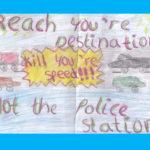 Penny Bridge School artwork speed sign3
