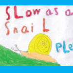 Penny Bridge School artwork speed sign4